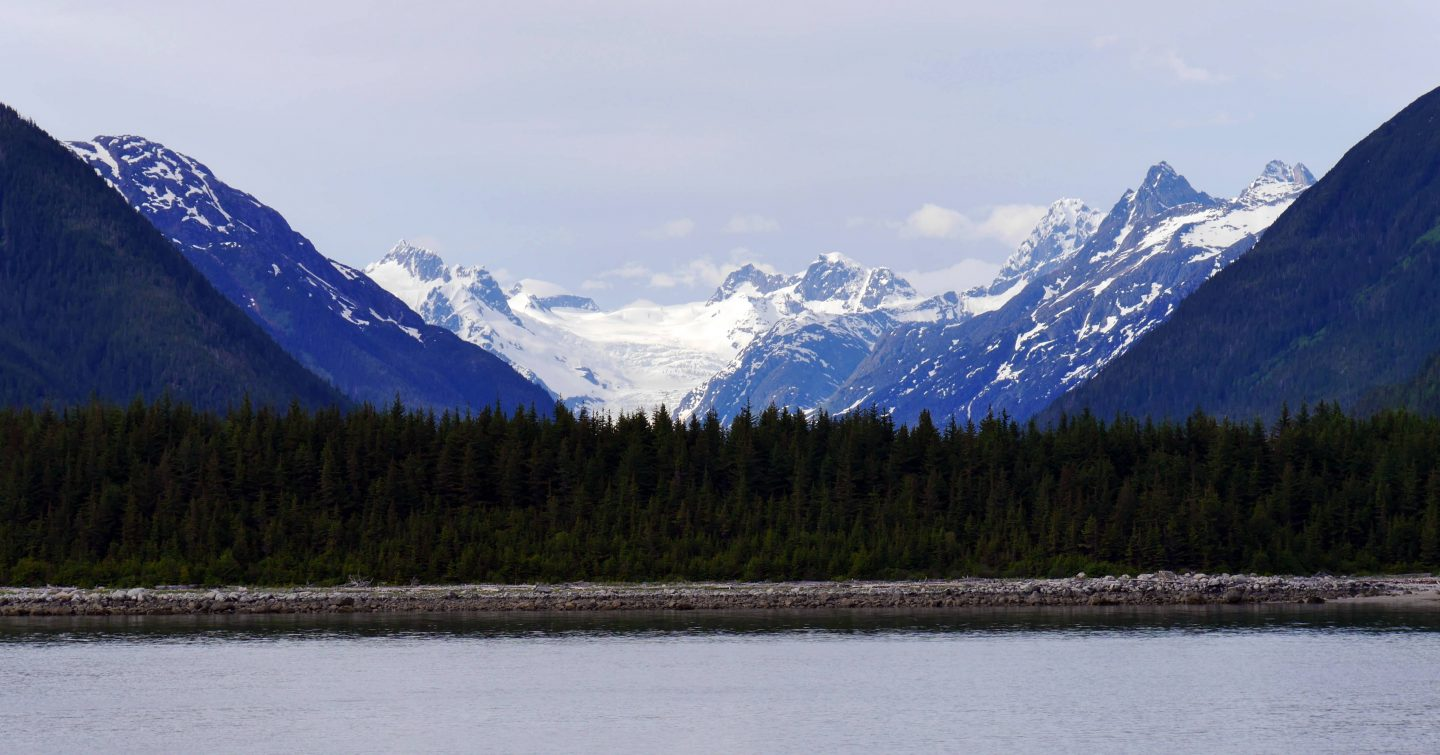 The way to the Glacier Bay – the Inside Passage