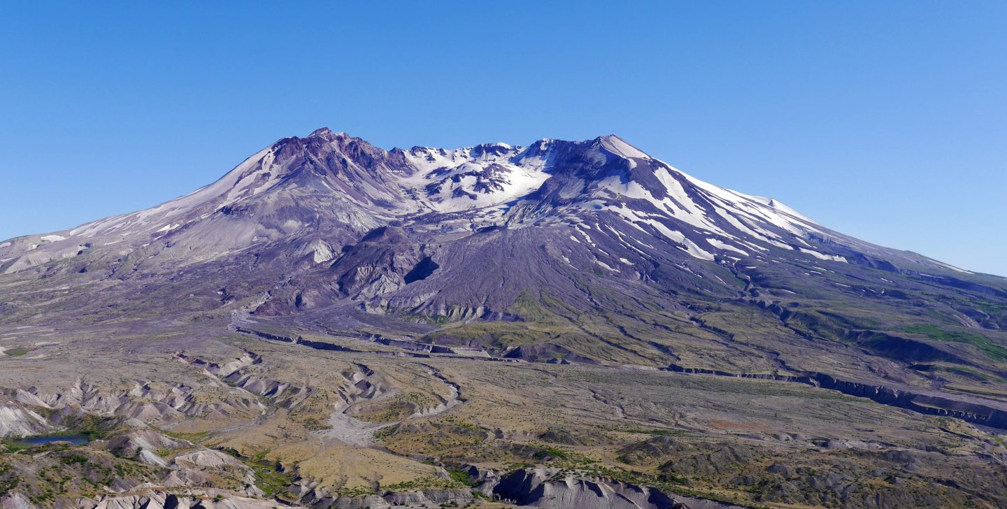 Mount St. Helens – Hiking through a Sea of Flowers