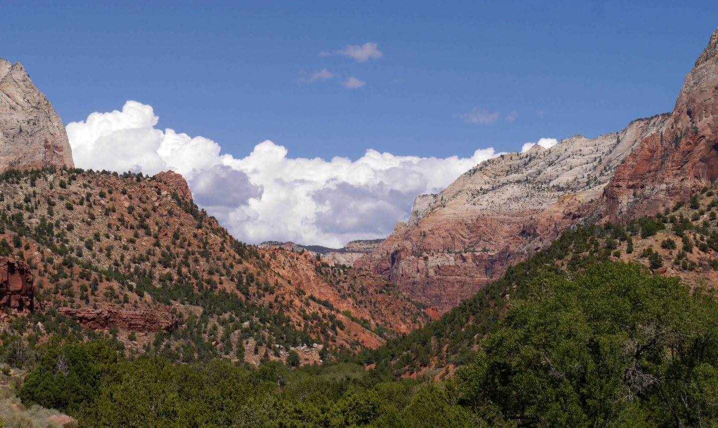 The Zion National Park- finally as a pair again