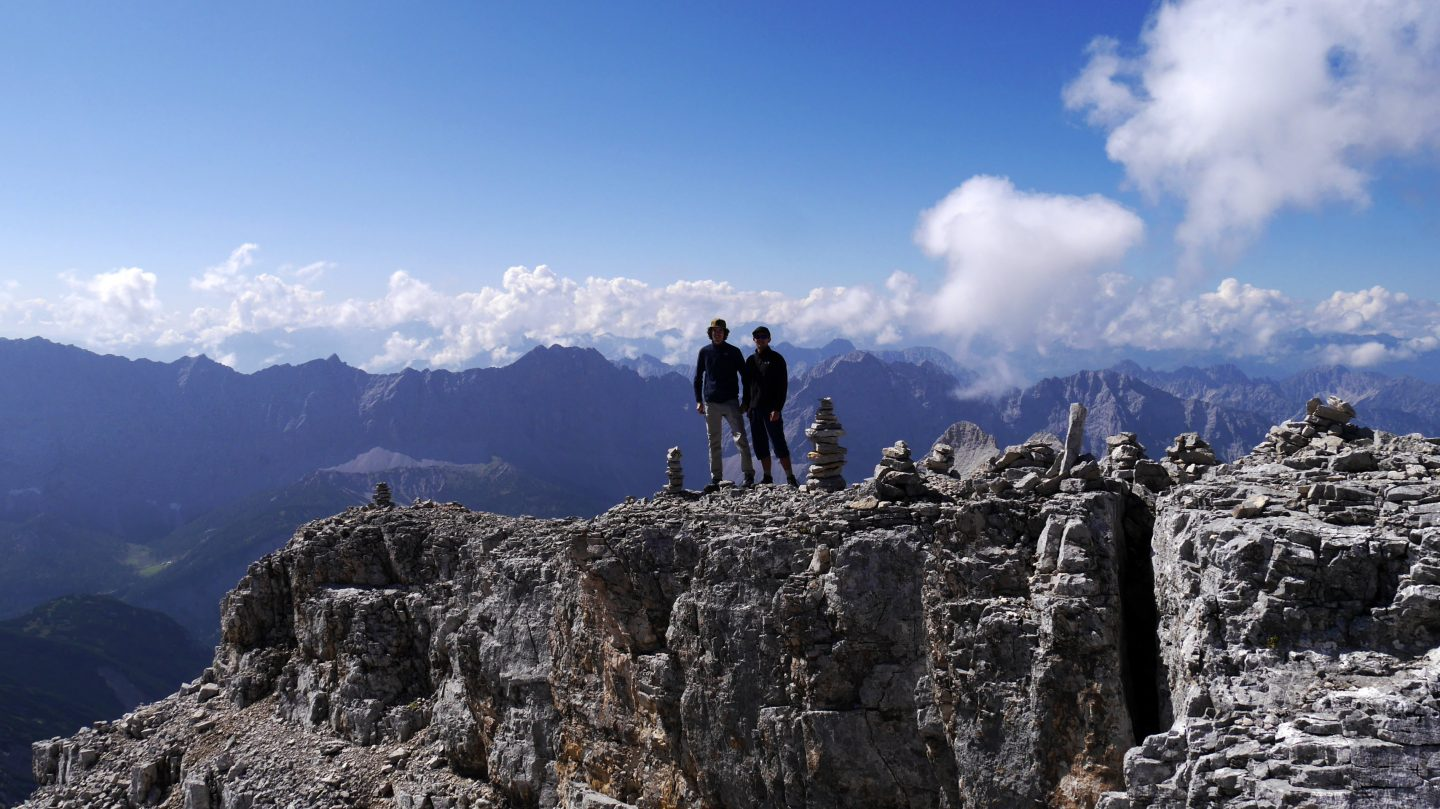 The Eagle Walk – Fight over the summits in the Karwendel Mountains