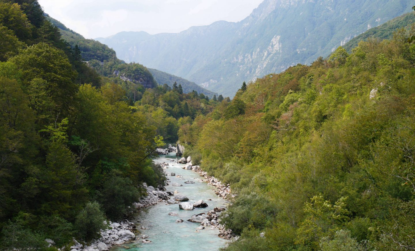 Slovenia – Mountain biking along the crystal clear Soča
